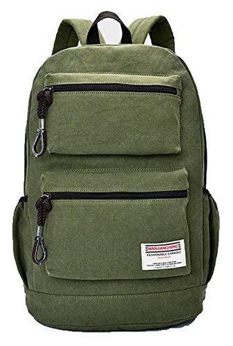Daypack Mode Zippers Vert à Femme Sacs Camping AgooLar de Daypacks randonnée dos TCw0tqwn