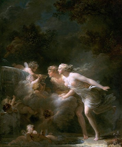 The Museum Outlet - Fountain of Love (about 1785) - Poster Print Online Buy (30 X 40 Inch)