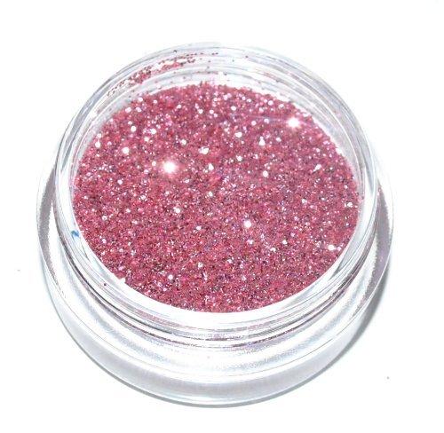 Crystal Rose Pink Eye Shadow Loose Glitter Dust Body Face Nail Art Party Shimmer Make-Up Kiara H&B