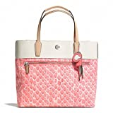Coach Resort Snake Print Small Tote Style: F27783