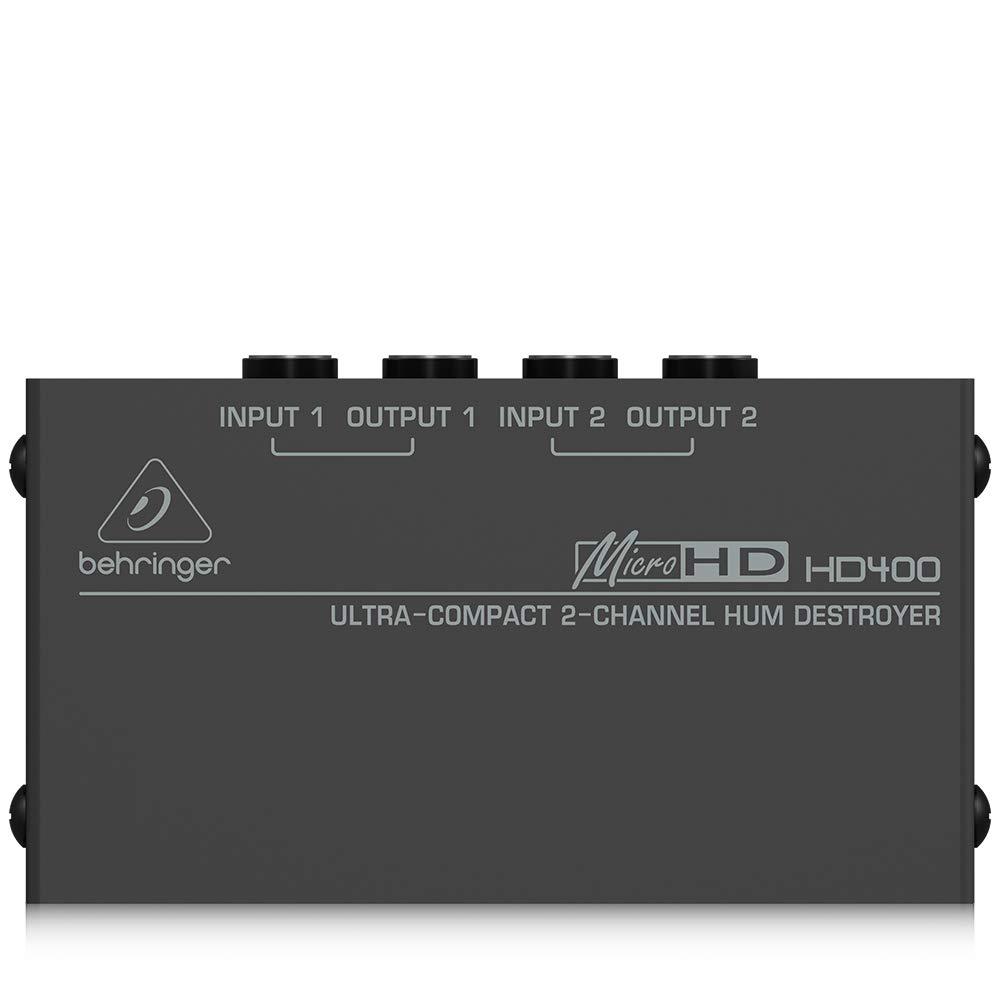 Behringer HA400 - Microamp Amplificador de auriculares es...