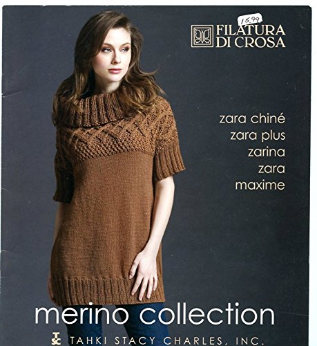 (Merino Collection Filatura di Crosa TSC Knitting Pattern Book - Fall Winter 2008)