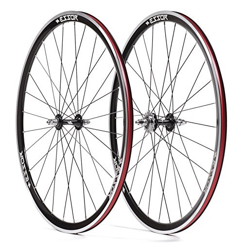 Essor USA Bolt Aluminum Clincher Front/Rear Track Wheel Set, 700cm