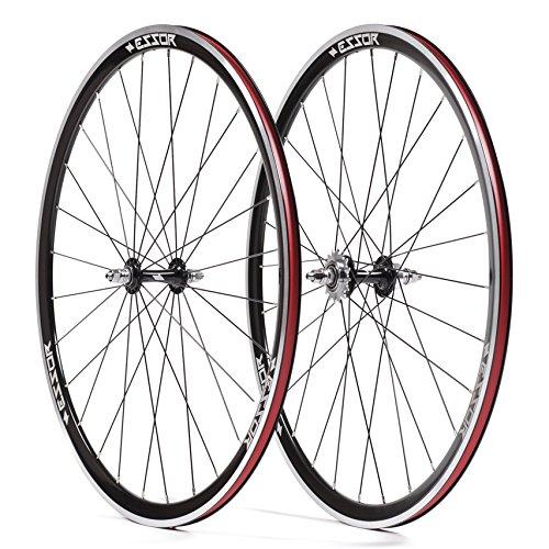 - Essor USA Bolt Aluminum Clincher Front/Rear Track Wheel Set, 700cm