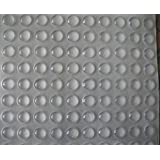 "VOVOV Self-adhesive Clear Rubber Feet Tiny Bumpons 0.25"" in diameter x 0.079"" height 400"