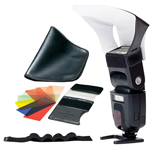 (LumiQuest Starter Kit with a Pocket Bouncer, FXtra Gel Set, and)