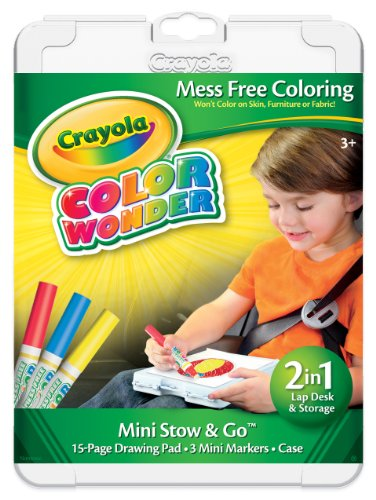 Crayola Color Wonder Mini Stow and Go Studio Coloring (Color Wonder Activity Kit)