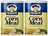 Quaker Yellow Corn Meal 24 oz pack of 2