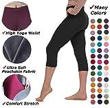 Lush Moda Extra Soft Capri Leggings - Variety of Colors - Yoga Waist
