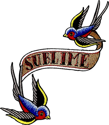 Application Sublime Bluebirds Patch by