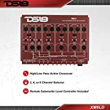 DS18 XM6LD 6-way Active Crossover - High/Low