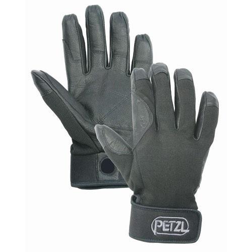 Rappelling Glove, XL, Black, PR by PETZL