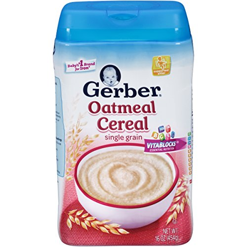 baby food oatmeal cereal - 7