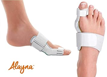 7ade24046 Bunion Corrector and Bunion Relief Orthopedic Bunion Splint Pads for Men  and Women Hammer Toe Straightener