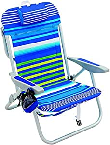 Rio 5-Position Backpack Beach Chair