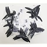 10 pair HQ Durable Prop 5.1X4.6X3 Black (2CW+2CCW/Bag)-Poly Carbonate-POPO (BLACK)