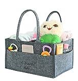 Diaper Caddy Organizer - w/ Free Baby Changing Pad