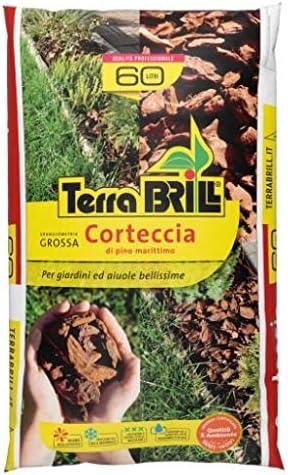 Corteza decorativa para maceteros de jardín. Grano gordos (25 – 40 mm) en saco de 60 L: Amazon.es: Hogar