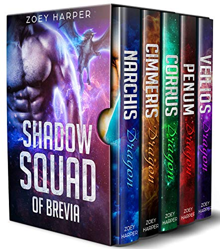 Dragons of Brevia: Shadow Squad: A Paranormal Romance Box Set