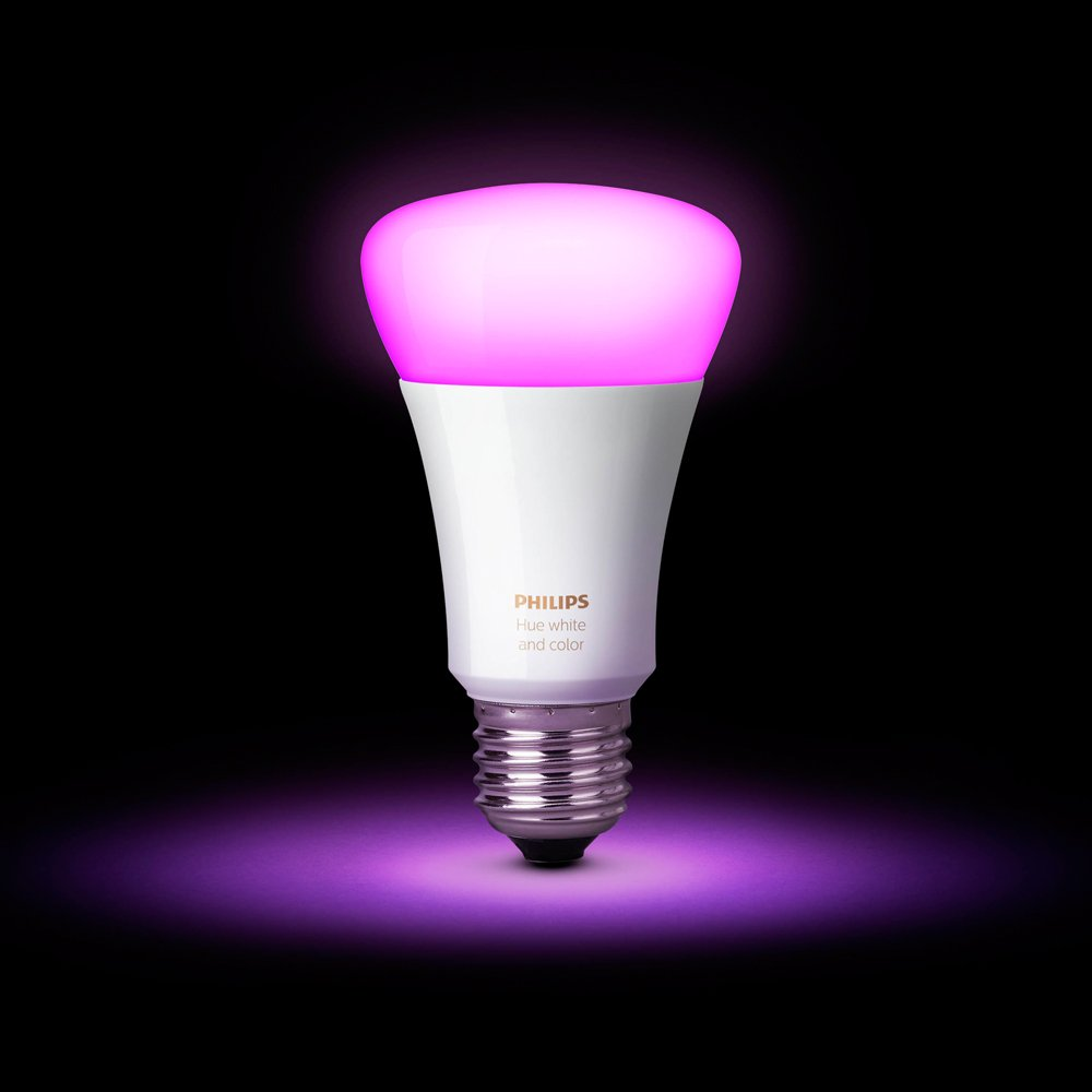 Philips Hue White and Color Ambiance 2nd Generation Smart Bulb Starter Kit (Older Model 3 A19 Bulbs and 1 Hub Works with Alexa Apple HomeKit and Google Assistant) by Philips LED (Image #5)