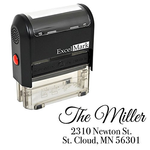 Custom Stamp - Return Address Stamp - Self Inking Stamp Design 4