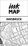 Innsbruck Inkmap - maps for eReaders, sightseeing, museums, going out, hotels (English)