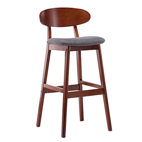 Brilliant Amazon Com Kitchen Bar High Stools With Backrest Wooden Dailytribune Chair Design For Home Dailytribuneorg