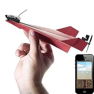 PowerUp 896964 - Aeroplano de papel compatible con smartphones, rojo