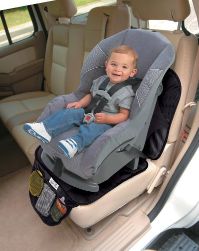 Large Product Image of Summer Infant DuoMat for Car Seat, Black