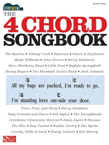Amazon.com: The 4 Chord Songbook: Strum & Sing Series (0884088500443 ...