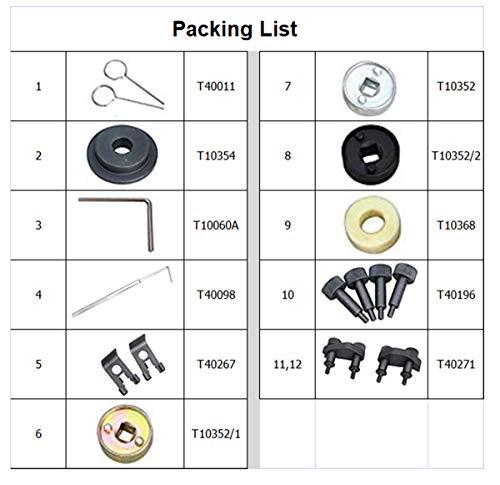 YOTOO Engine Camshaft Locking Alignment Timing Tool Kit for Audi VW Skoda VAG 1.8 2.0 TFSI EA888 SF0233 by YOTOO (Image #1)