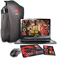MSI GE63 Raider 15.6 Gaming Laptop - Intel Core i7-7700HQ, NVIDIA GTX 1050, 16GB DDR4, 1TB SSD, Win10 Home + Gaming Bundle