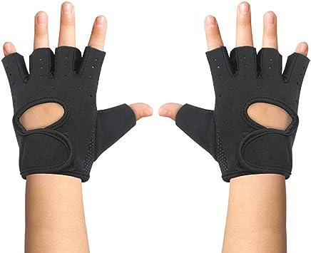Amazon.com : Luwint Kids Fingerless Workout Gloves - Anti ...