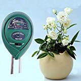 Prime 3 in1 Moisture Light Meter Hydroponics Analyzer pH Tester Plant Flowers Soil