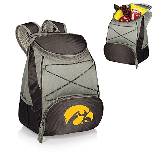 NCAA Iowa Hawkeyes PTX Insulated Backpack Cooler, - Golf Iowa Hawkeyes Bag Cart