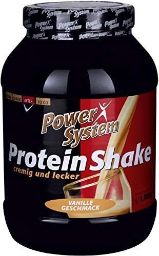 protein shake vanille