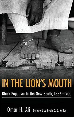 Descargar Novelas Torrent In The Lion's Mouth: Black Populism In The New South, 1886-1900 PDF En Kindle