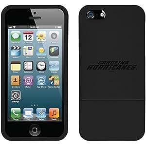 Coveroo iPhone 6 plus 5.5 Black Slider Case with Carolina Hurricanes Wordmark 4 Design