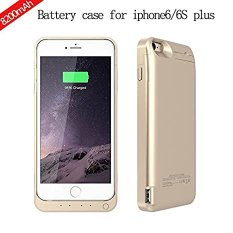 custodia ricaricabile iphone 6s plus