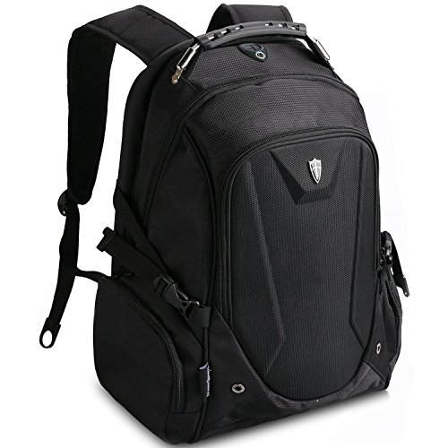 Victoriatourist V6002 Laptop Backpack with Tablet / iPad Compartment, Fits Most 17' Laptops, Black