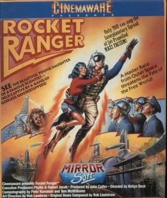 Rocket Ranger- Atari ST video game- 1989: Amazon co uk: PC