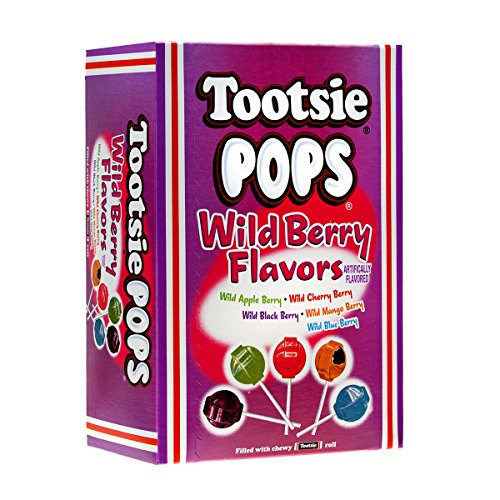 Tootsie Pops Wild Berry Flavors, 3.75 lb, Easter Pack ()