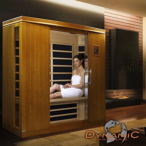 Dynamic Saunas AMZ-DYN-63-10-02 Madrid II Low Emf Far Infrared Sauna