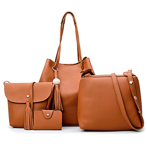 Imagen Meaeo De Marrón Marrón De Estilo En Bolso Bolsa Bolso Nueva Occidental Color Brown Moda Brown Bolsa SxYSr1