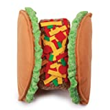 Casual Canine Polyester Taco Dog Costume, Small, 10-Inch