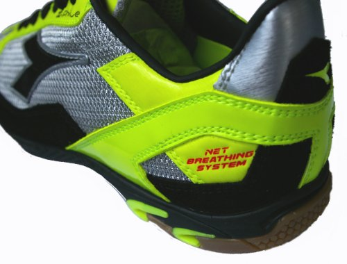 Diadora , Chaussures pour homme spécial foot en salle GIALLO-NERO-ARGENTO