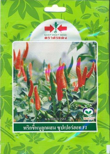 Hot Hybrid Pepper (Thai Hybrid Chili Pepper Pepper Super Hot Seed)