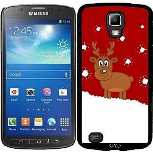 Funda para Samsung Galaxy S4 Active i9295 - Un Ciervo De Navidad En La Nieve by zorg