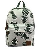 Backpacks School Bookbags For Girls | Mochilas De Mujer | Cute Daypacks College Travel Bags Women Fashion Floral Galaxy Pineapple Bag (Pineapple 2)