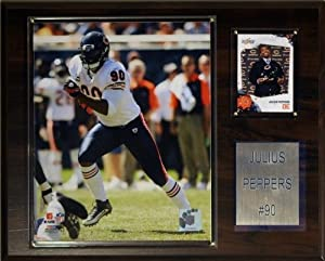 NFL Julius Peppers Chicago Bears Player Plaque